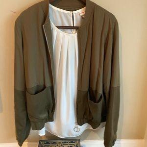Bundle & Save Ethereal Olive Green Jacket Size L